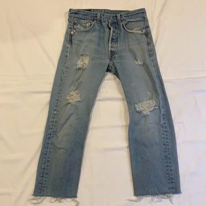 Levi's 501 button fly jeans W32